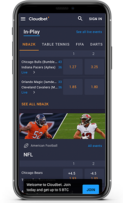 Cloudbet Sportsbook Review 2021 – Experience Quality Betting